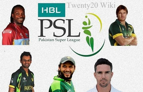 PSL Teams Squad after day-1 of players draft - T20 Wiki