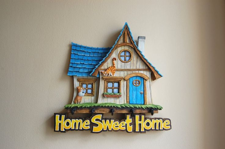 Wood Carving - Home Sweet Home