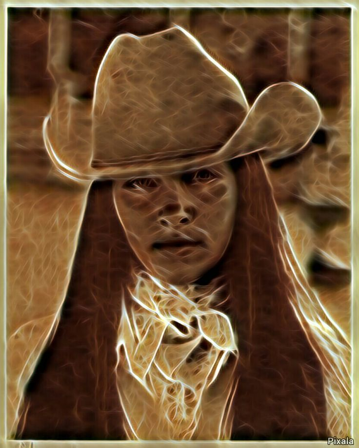 Indian Cowgirl