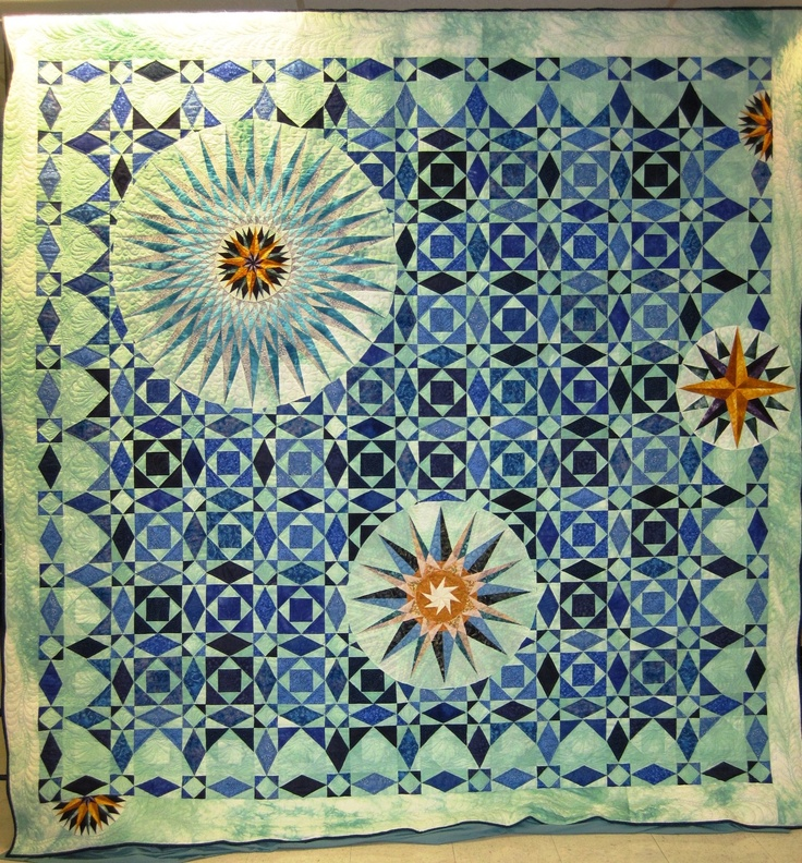 Wyoming State Quilt Guild, 2012 opportunity quilt