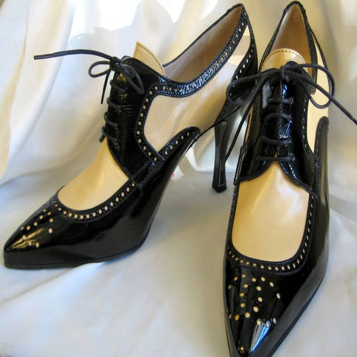 Image result for chanel spectator shoes