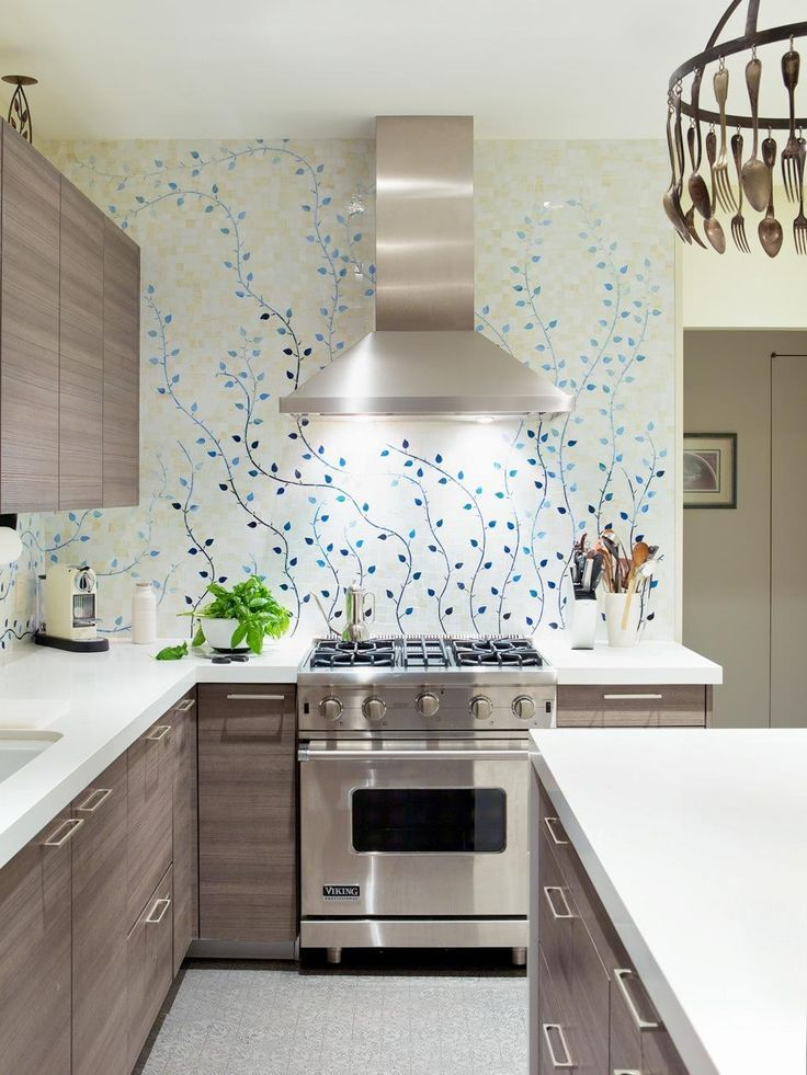 amazing designer kitchen wallpaper. Poggenpohl kitchen designer  Elizabeth Cosby worked closely with interior Caroline Beaupere 53 best WALL SOLUTIONS FOR THE KITCHEN images on Pinterest