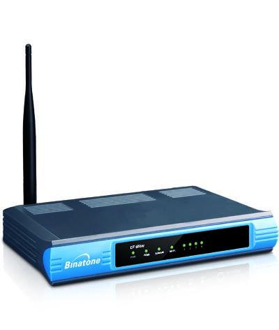 4 port  ADSL wi-fi MODEM+ Router from Binatone DT850