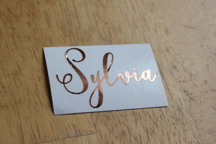 Excited to share the latest addition to my #etsy shop: Name decal // Vinyl Name Decal // Rose Gold Personalized Label // Name for Water Bottle // Name Coffee Cup // Custom Names // Script Font