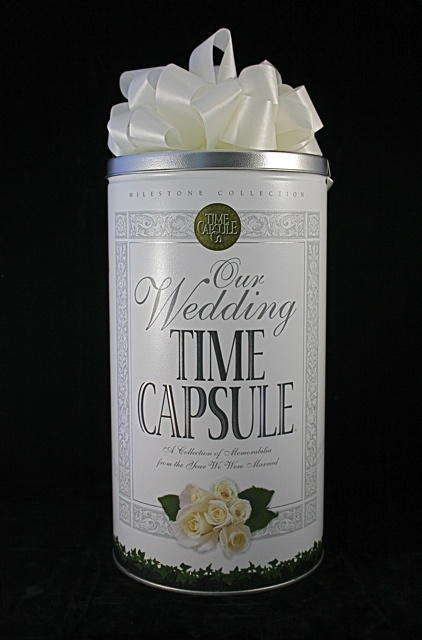 Perfect Unique Wedding Shower Gift. Wedding Day Time Capsule. Get yours at www.timecapsule.com