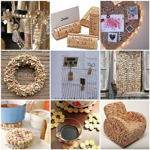 wine cork ideas crafts avec des bouchons de li 232 ge centre de table 5726