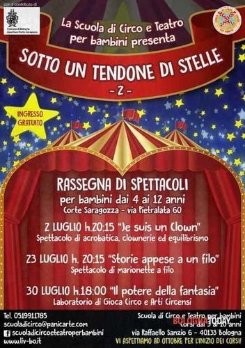 Emilia #Romagna: Sotto un #tendone di stelle 2: Circo&Teatro per bambini (link: http://ift.tt/2960i1W )