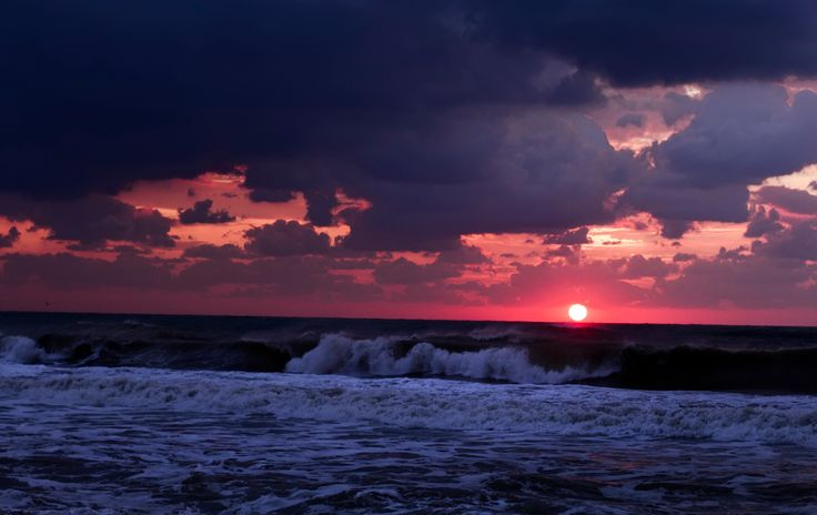 About waves and sun - Morning