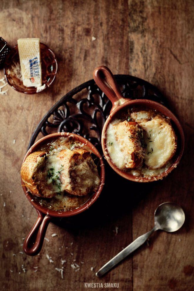 Zupa cebulowa { French Onion Soup }