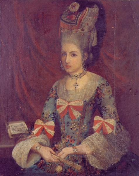 1770 - Donna Francese Aoto Martini