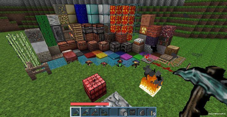Minecraft с Установленными Модами скачать
