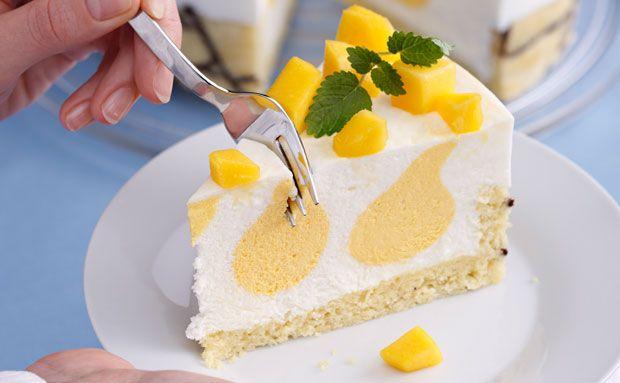 Backrezepte für Ihre Küche: Buttermilch-Mango-Torte