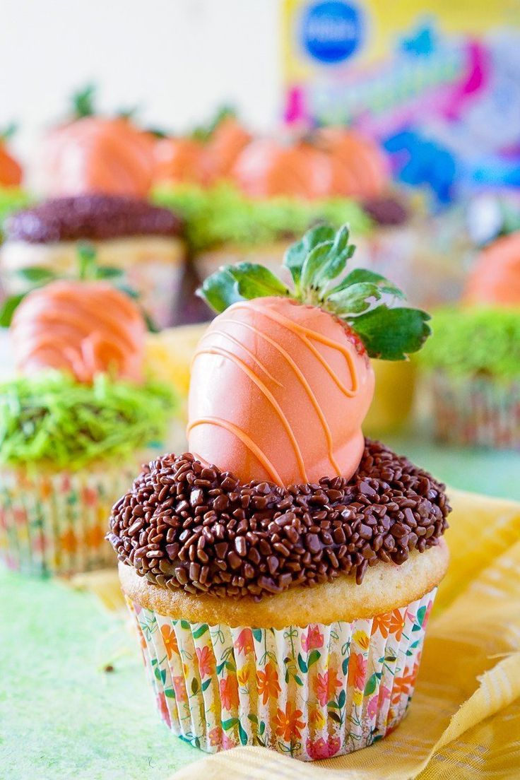 Easy Easter Cupcakes @FoodBlogs