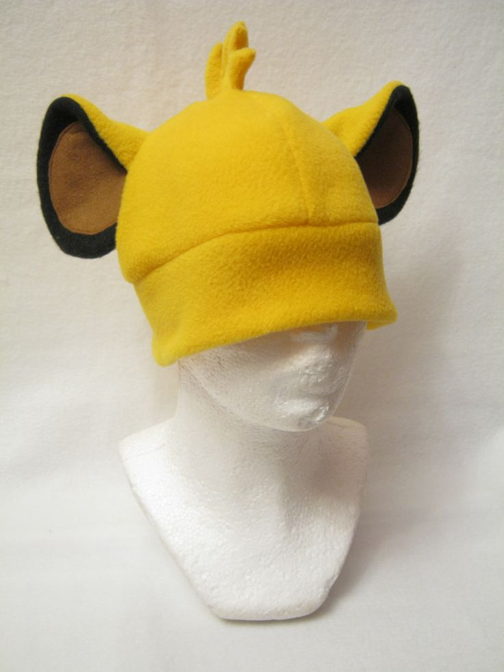 Simba Hat Lion King (Disney)  Made by Plush Workshop