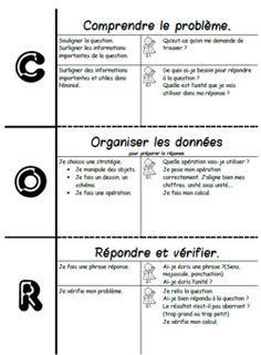 C.O.R:comprendre, organiser et répondre, résolution problème, stratégies, Cp, ce1,ce2,cm1, cm2