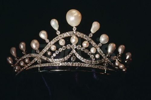 Countess of Paris Pearl Tiara by Chaumet.