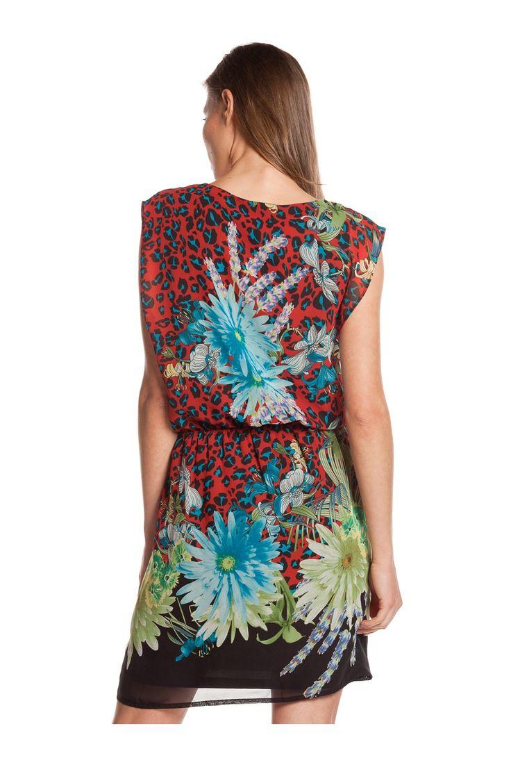 Vestido estampado floral. - MUJER | Rosalita McGee#flores #vestidoflores #estampadofloral #flowers #modaprimavera #springstyle #dress