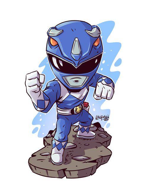 Chibi Blue Ranger  Derek Laufman