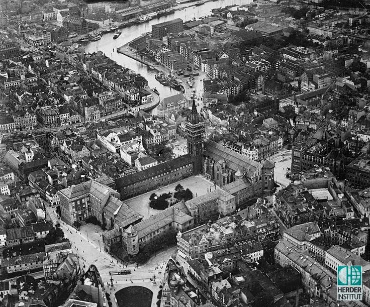 Königsberger Schloss, Altstadt und Kneiphof