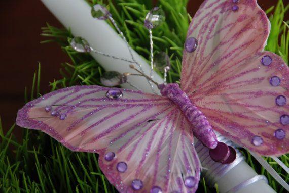 Fluttery Butterfly Greek Easter Lambada by KoulEvents on Etsy, $12.00