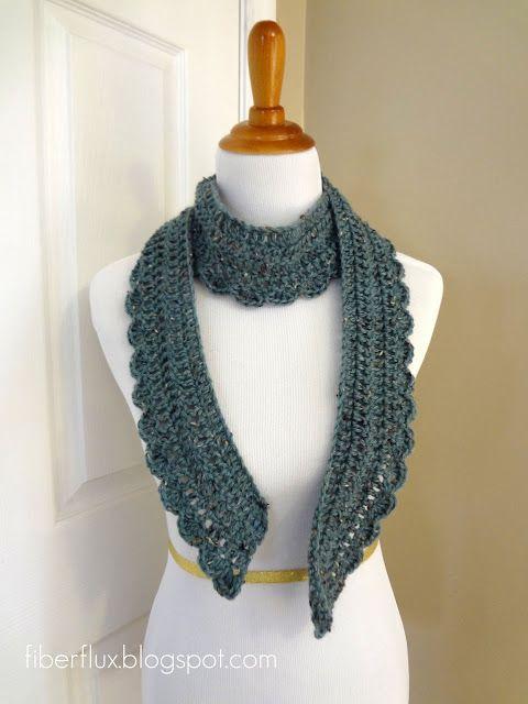 Ocean Air Scarf (Free Crochet Pattern)