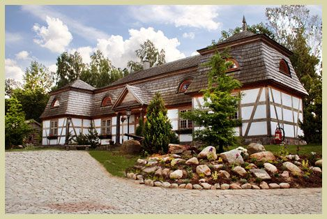 New business directory listing - The Salino Manor House - http://engdex.pl/bd/salino-manor-house/ - The Centre for Education in Szymbark houses a replica of a manor house from the village of Salino near Wejherowo. Such structures were common in old Poland, when the nobility made a significant percentage of the population.