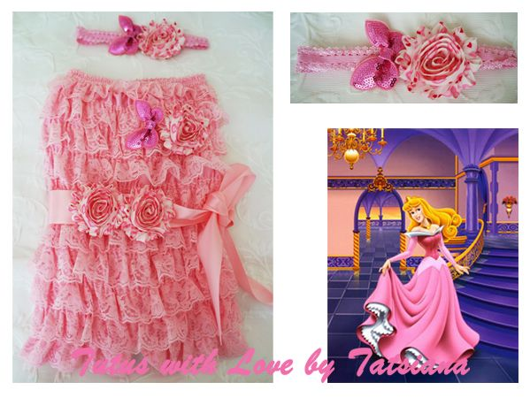 Princes Aurora inspired romper outfit.