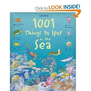 This book series is a hit with my son - helps with counting too. I like the Sea and Insect books best.