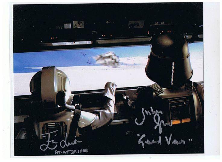 Äkta Autograf AT-AT Star Wars UACC RD#303 COA på Tradera.com - Äkta