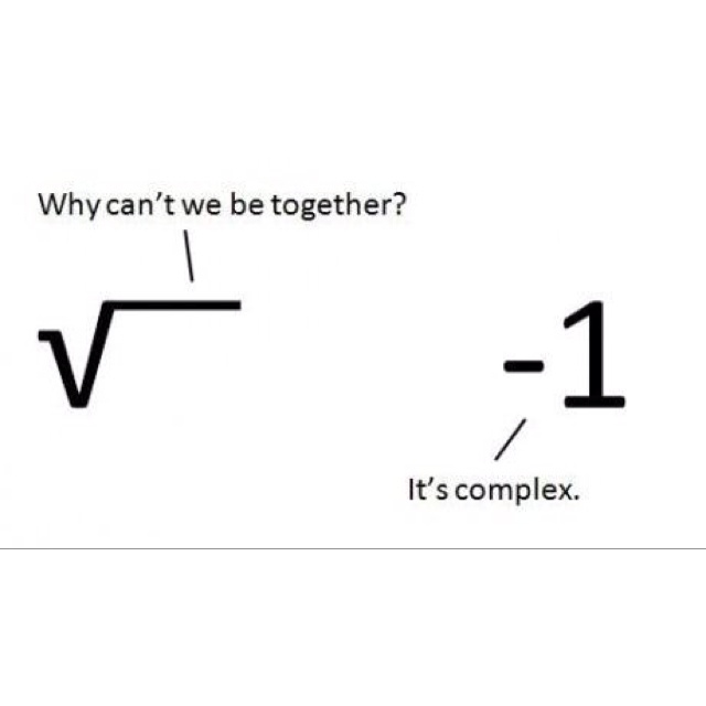 """Yeah... I'm in a math humor mood tonight, because I just solved a problem that had been bugging me like crazy, and now I'm all """"Veni, Vidi, Vici!"""" :)"""