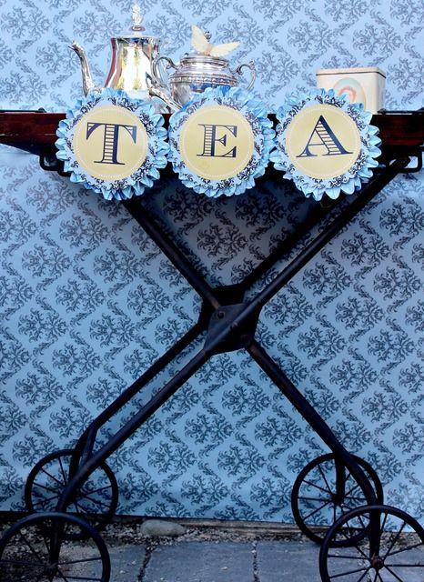 Linda's High Tea Bridal Shower | CatchMyParty.com