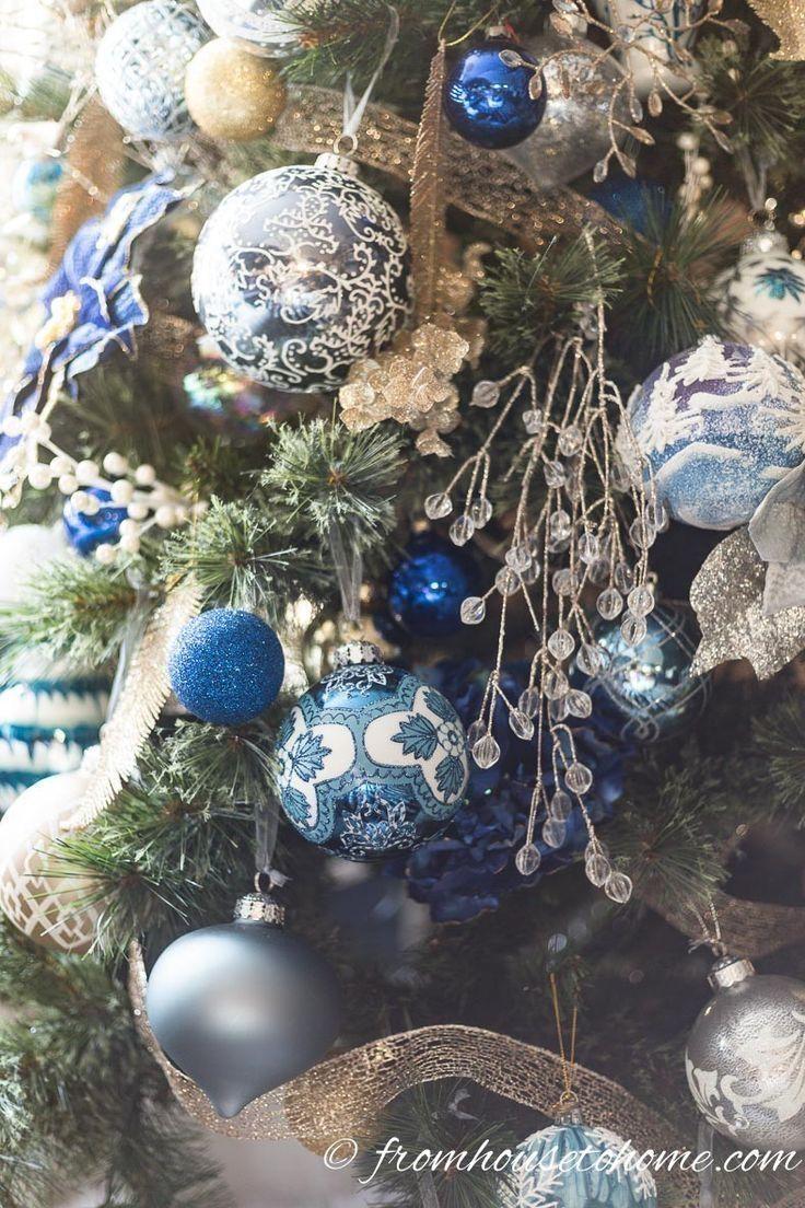 Choinka Christmas Tree Christmas Idea Blue Christmas Blue Christmas Decor Blue Christmas Tree Decorations Turquoise Christmas Tree