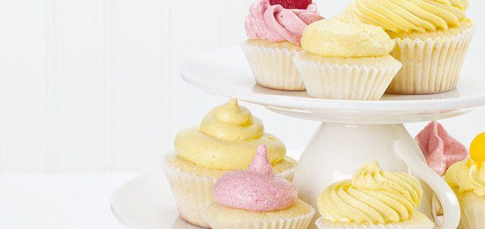 Gâteau à la vanille pour mini cupcakes