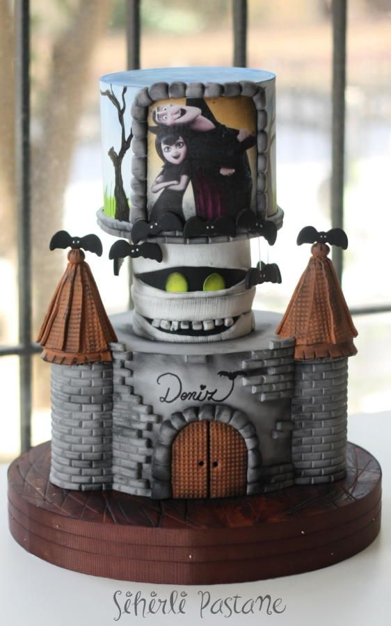 Hotel Transylvania Cake and Cake pops by Sihirli Pastane