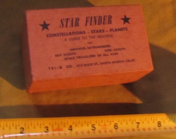 STAR FINDER FOR AMATEUR ASTRONAUTS VINTAGE BOY SCOUTS GIRL SCOUTS SANTA MONICA   #STARFINDER