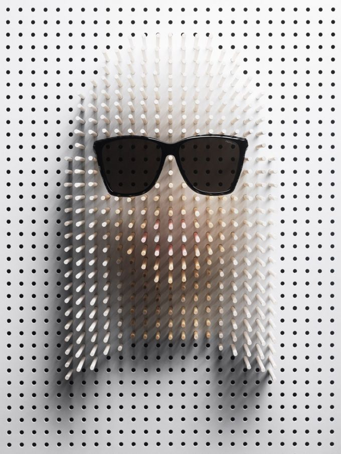 The Cool Hunter - Art. Lady GagaPinart, Lady Gaga, Sticks Art, Celebrities Portraits, Pin Art, Fashion Blog, Philip Karlberg, Famous Face