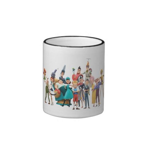 Meet the Robinsons Cast Disney Coffee Mug