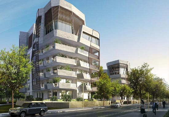 Daniel Libeskind Residences in CityLife, Milan, Italy.    More informations and images on http://www.city-life.it