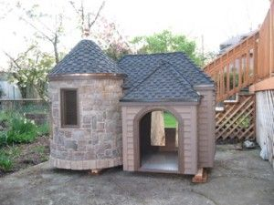 dog house...yes i would get this for my two dogs...that are spoiled a lot :)