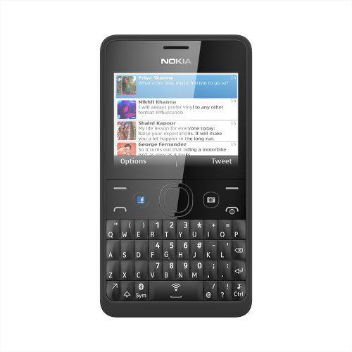 Nokia Asha 210 SIM-Free Mobile Phone - Black - http://www.computerlaptoprepairsyork.co.uk/mobile-phones/nokia-asha-210-sim-free-mobile-phone-black