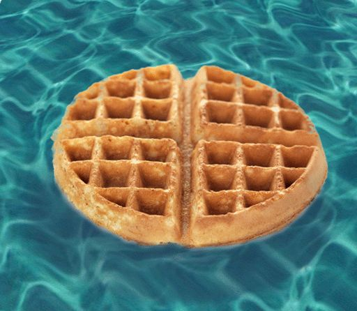 "And who could forget the golden rule of breakfast food, ""Never Eat Soggy Waffles""!"