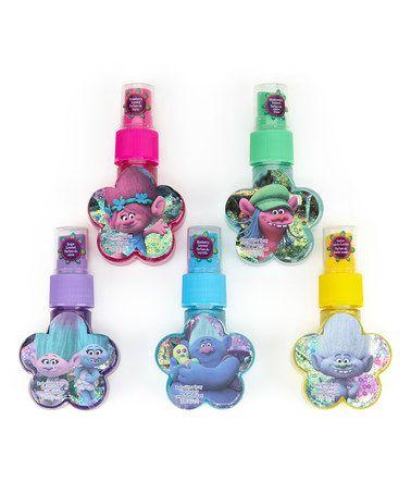 This Trolls Body Glitter Spray is perfect! #zulilyfinds