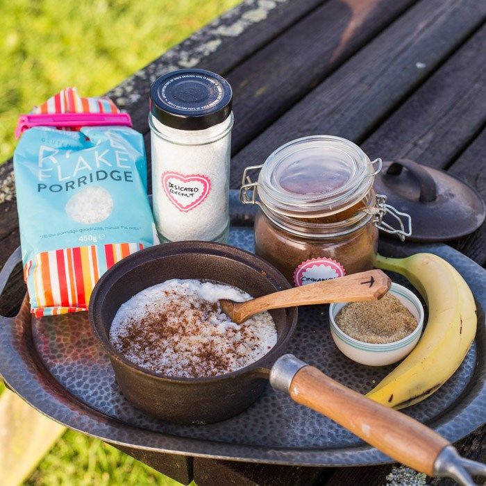 Coconut Rice Pudding ~ Gluten Free Camping Breakfasts | The Hedgecombers