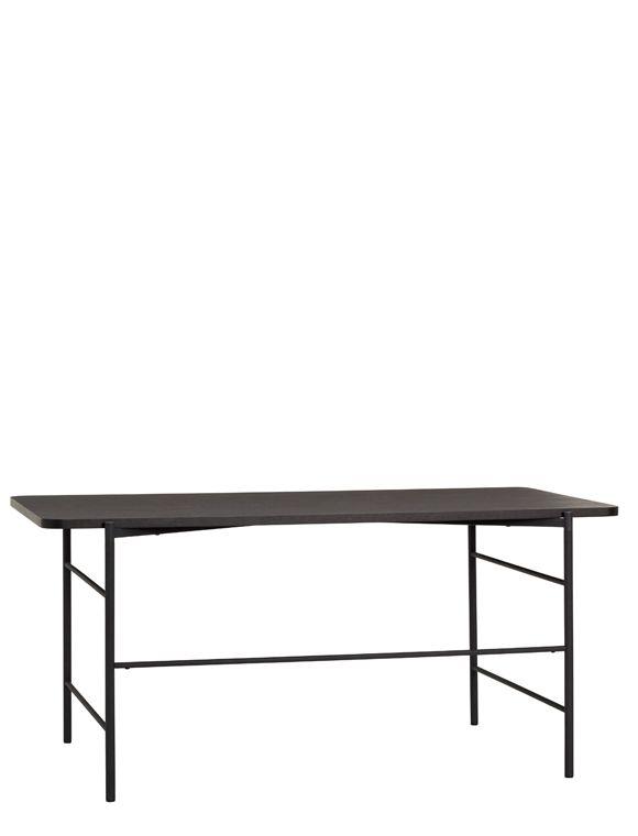 Schwarzer Schreibtisch Von Haœbsch Interior Tisch Schreibtisch Hubsch Interior