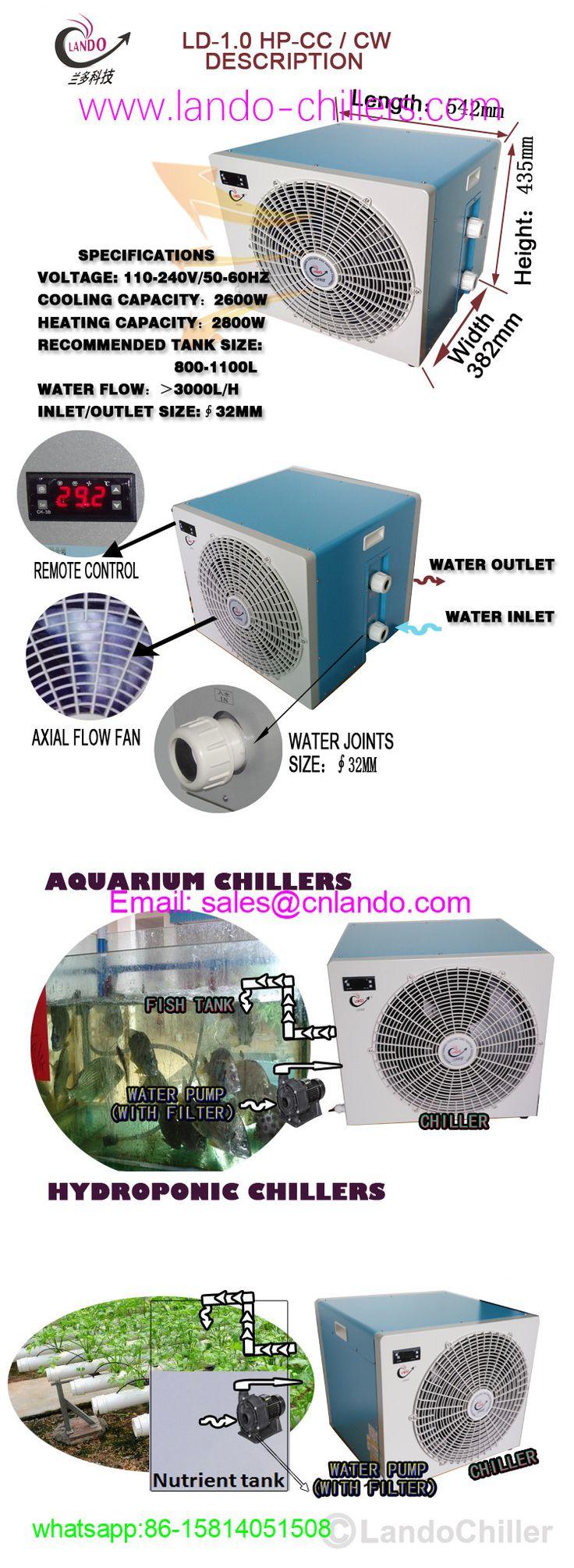 How does an aquarium chillers work aquarium chiller