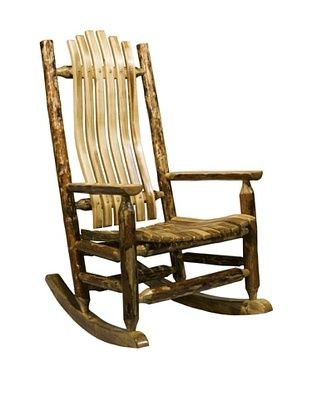 54% OFF Montana Woodworks Glacier Country Log Rocker