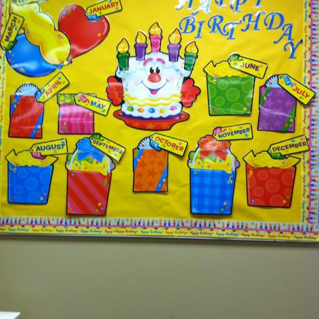 Bulletin Board Birthday Cake Ideas And Designs