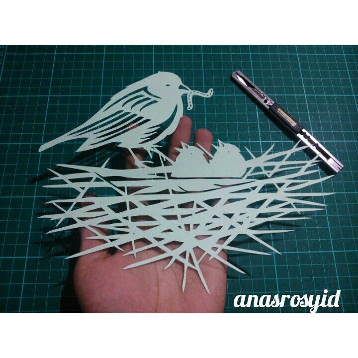 #bird #papercut