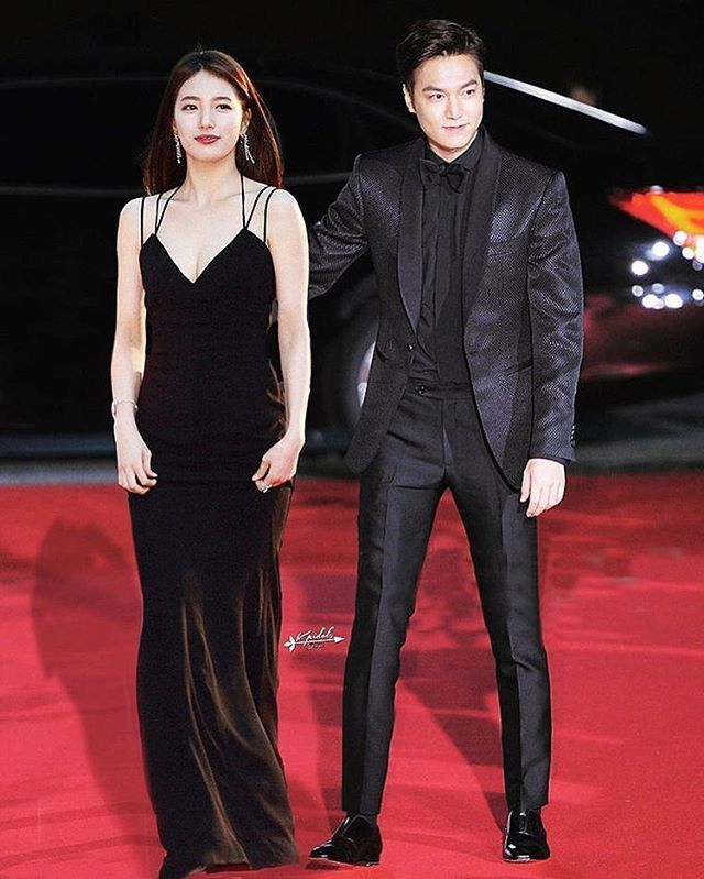 Lee Min Ho and Suzy Bae
