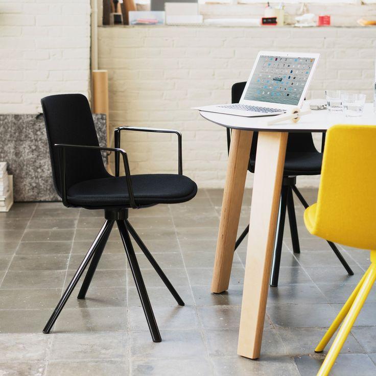 Lottus Spin chair designed by Lievore Altherr Molina for Enea | Office design, decor, interior design, designer furniture, task, conference, castor, armchair